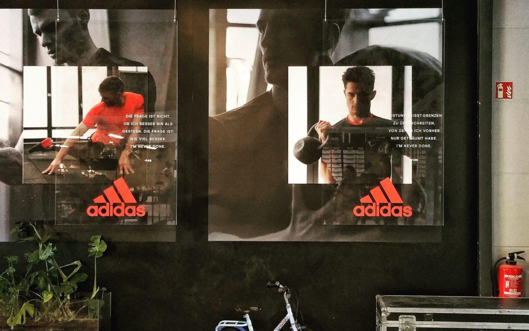 Branded Environments (1): Adidas RUNBASE
