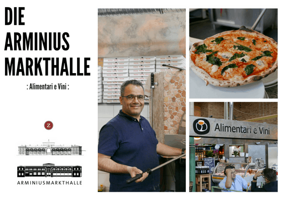 Postcards from the Arminius Market Hall