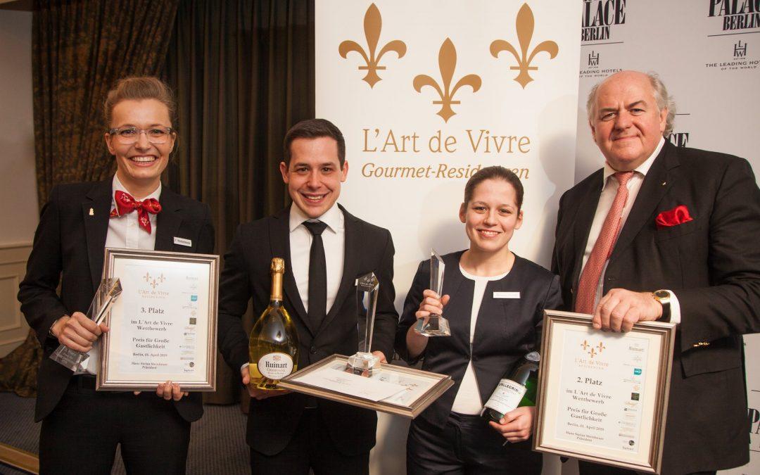 L'Art de Vivre Preis für Große Gastlichkeit 2019
