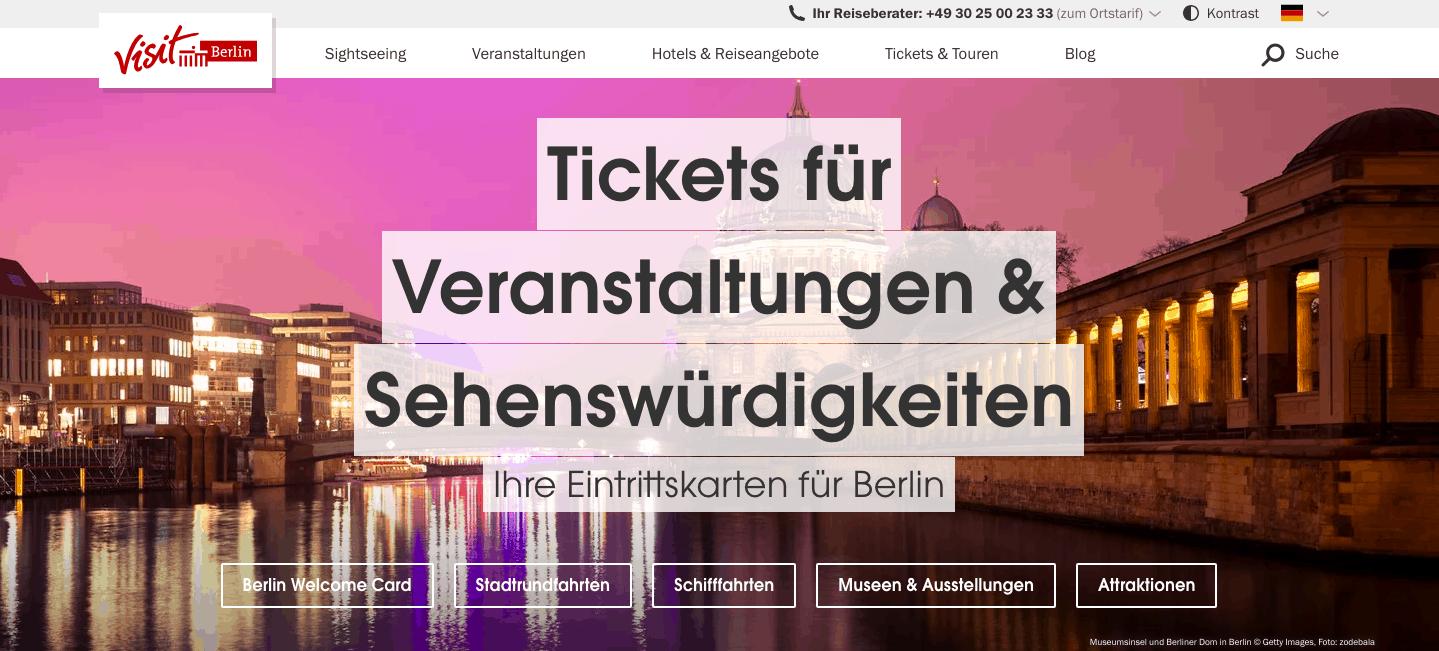 Website | Visit Berlin | ©visitBerlin