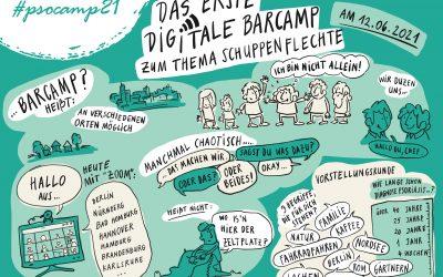 #psocamp21 – Das erste digitale Barcamp für Menschen mit Psoriasis