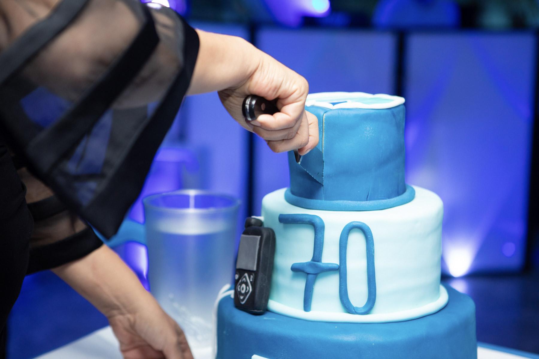 70 Jahre? Nur mit Pumpe! |©Gesine Born